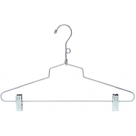 "Big Kids 14"" Metal Coordinate Hanger w/ Clips"