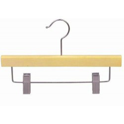 "Kids 10"" Wood Pant/Skirt Hanger"