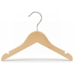 """Kids 11"""" Wood Top Hanger"""