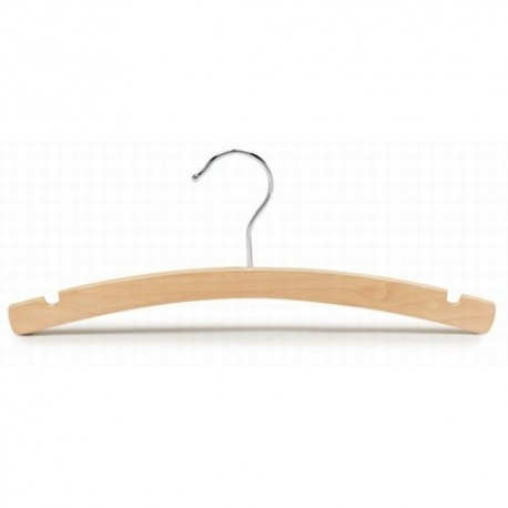 "Kids 12"" Arched Wood Top Hanger"
