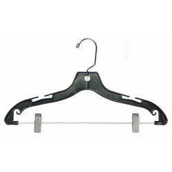 "Big Kids 14"" Black Plastic Coordinate Hanger"