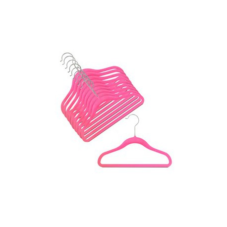 Kids Slim-Line Hot Pink Hanger