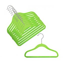 Kids Slim-Line Lime Hanger