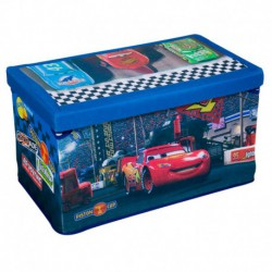 Disney Pixar's Cars Fabric Toy Box