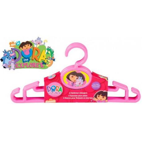 """Kids 12"""" Dora the Explorer Hangers"""