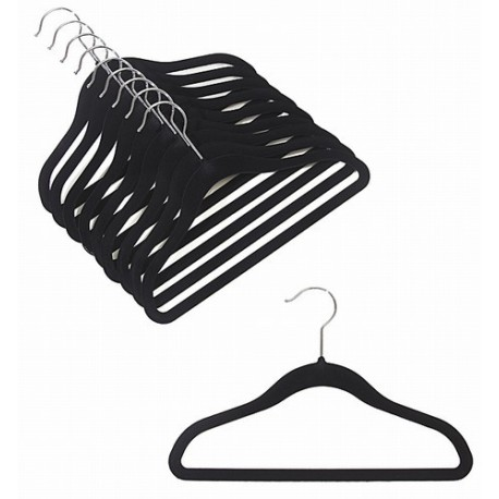 Kids Slim-Line Black Hanger