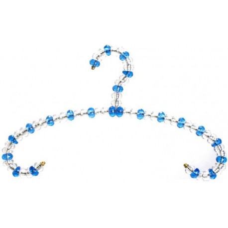 Kids Blue and Transparent Glam Hanger