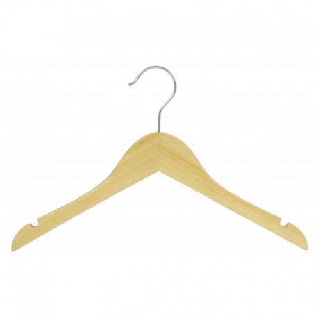 "Big Kids 14"" Natural Top Hanger"