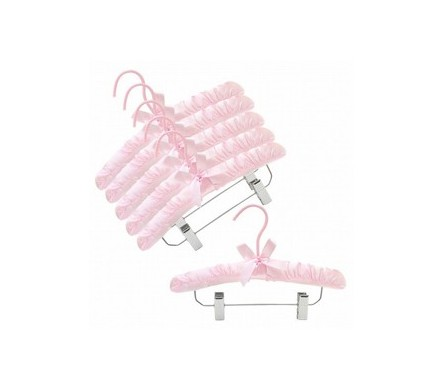 Childrens Fabric Padded Hangers